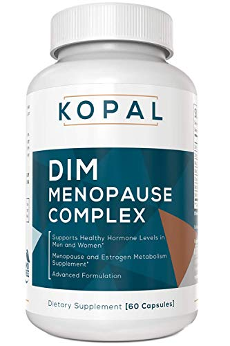 Dong Quai Black Cohosh - KOPAL DIM Supplement 250mg - with Bioperine®, Black Cohosh, Dong Quai | Menopause Relief | Hormone Balance for Women - Metabolism Booster & Estrogen Blocker - Aromatase Inhibitor | Acne Treatment