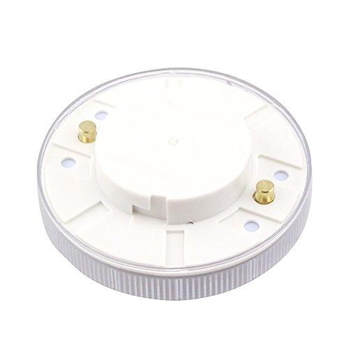 bonlux led gx53 30pcs 5050smd led chips warm white under cabinet light ac110v gx53 led puck. Black Bedroom Furniture Sets. Home Design Ideas
