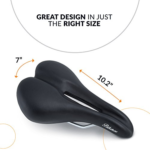 ee6d3cbd42c Bikeroo Most Comfortable Bike Seat for Men - Padded Bicycle - Import It All