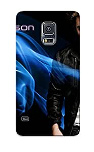 XCDMuJm1071laYrC Case Cover Robert Pattinson Compatible With Galaxy S5 Protective Case