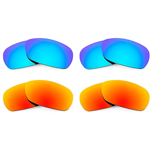 Revant Replacement Lenses for Smith Method 4 Pair Combo Pack - Lenses Spoiler Smith