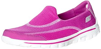 Skechers Performance Women's Go Walk 2 Spark Walking Shoe,Raspberry,5 M US