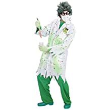 DR. TOXIC (M) (lab coat face mask latex gloves)