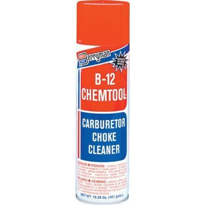 B-12 CHEMTOOL Carburetor/Choke Cleaners - 16 oz aero b-12 carb/choke cleaner [Set of 12] by Berryman Products