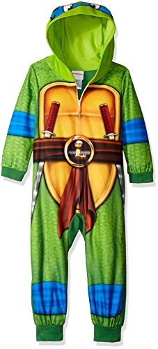 Nickelodeon Boys' Ninja Turtles Uniform Union Suit, Green, 8 for $<!--$19.99-->