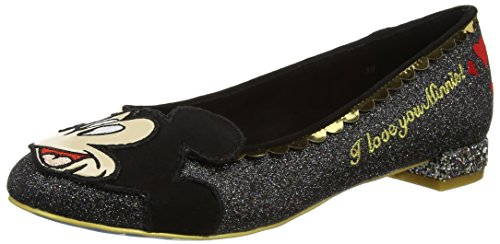 Hello Choice Black Why Mujer Black Irregular Glitter Tacones qSXEanqp