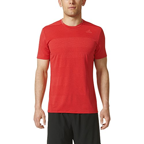 adidas Men's Running Supernova Shorts Sleeve Tee