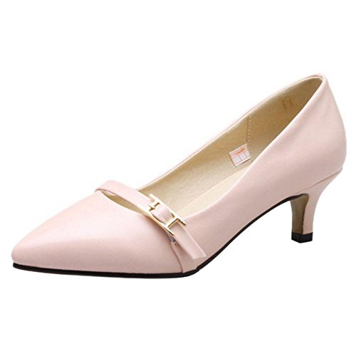 On Fashion KemeKiss Slip Women Pink Pumps qFxftS