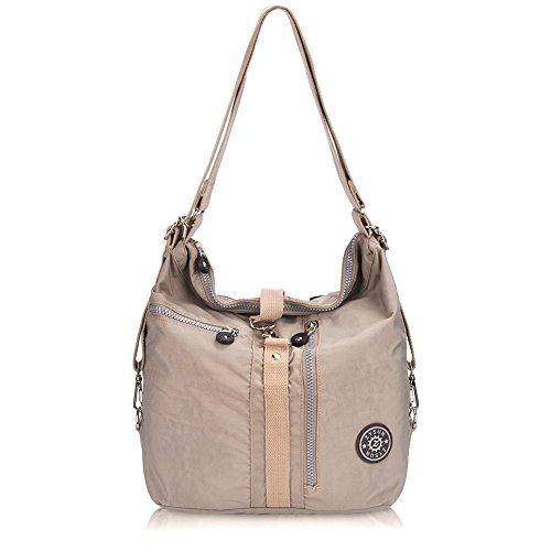 Nylon Backpack Handbag - 6