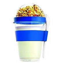AdNArt Yogurt Container, Blue
