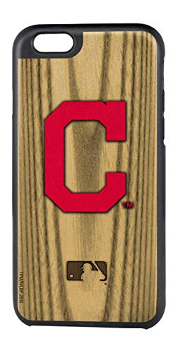 Cleveland Indians Case - Team ProMark MLB Cleveland Indians Rugged Series Phone Case for iPhone 6/6S, 5.75 x 2.75, Brown