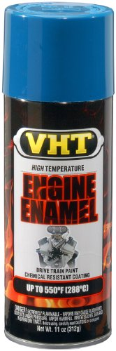 VHT SP135 Engine Enamel GM Blue Can - 11 oz. (Engine Blue Paint)
