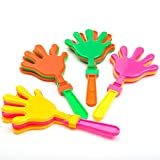Amscan Plastic Hand Clappers, Pack Of 12
