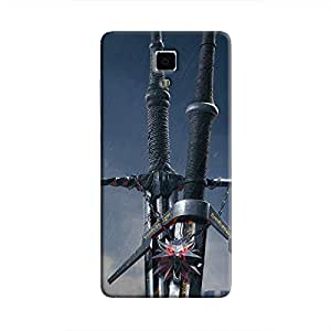 Cover It Up - Witcher Blades Mi4 Hard Case