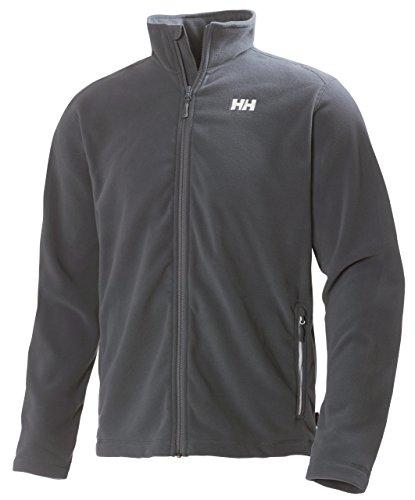 Helly Hansen Men's Daybreaker Fleece Jacket, Ebony, Large