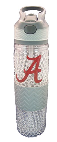 NCAA Alabama Crimson Tide 20oz Freezer Tritan Water (Alabama Insulated Bottle)