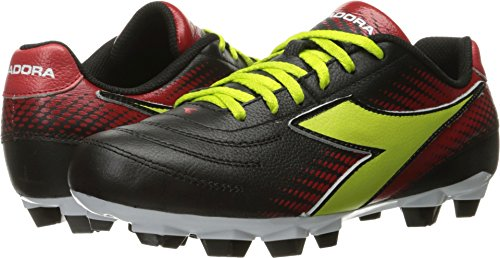L Shoe Diadora Lime W Soccer Black Women's Mago Red LPU Ewnqxp6F