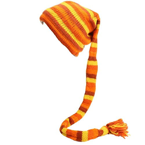 de Rayas punto Orange Hats hombre Yellow Loud para Gorro xHwvZzO