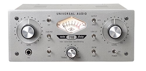 Universal Audio 710TFD Twin-Finity Single-Channel Microphone Preamp ()