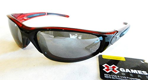 X-GAMES Mens Sunglasses (852) 100% UVA & UVB Protection-Shatter Resistant + FREE BONUS MICROSUEDE CLEANING - Maui Oakley