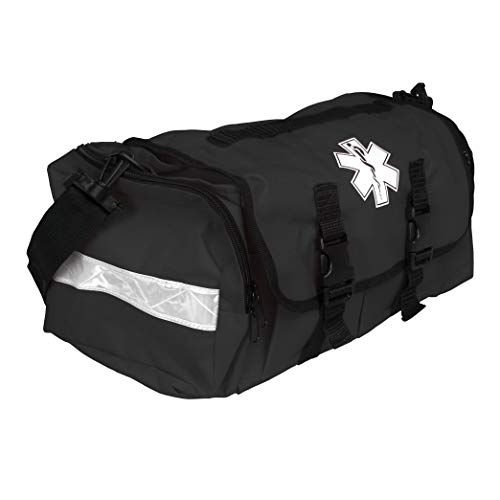 Dixigear First Responder On Call Trauma Bag W/Reflectors (Black)