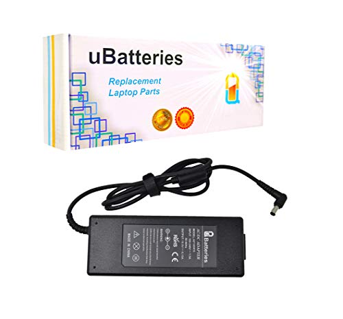 (UBatteries Compatible 120W Laptop AC Adapter Charger Replacement For Sony Part# PCGA-AC19V7 VGP-AV19V7 VGP-AC19V15 Fits Sony Vaio SVZ13 VGN-A VGN-AR Series)