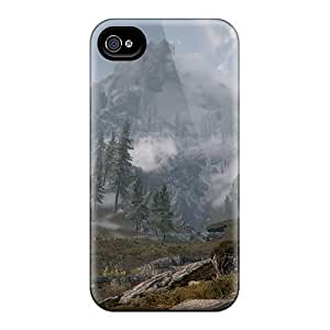 Fashion Cases For Samsung Galxy S4 I9500/I9502- Skyrim Mountain Defender Cases Covers
