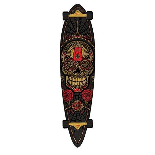 SANTA CRUZ Longboard Sugar Skull Pintail 9.58″ x 39″