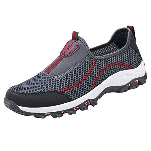 - iHPH7 Walking Sneakers,Casual Breathable,Athletic Walking Running Shoes,Trail Running Shoe,Swim Shoes,Barefoot Shoes,Barefoot Running Shoes,Sport Hiking Water Shoe (43,Dark Gray)
