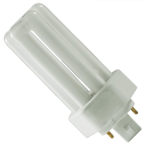 Cfl Tri Tube - Sylvania 20881 Compact Fluorescent 4 Pin Triple Tube 3500K, 26-watt