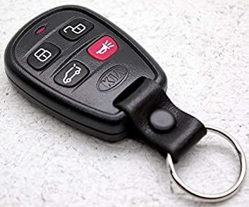 Pack of 2 KeylessOption Keyless Entry Remote Car Key Fob Strap for Kia Spectra Sorento Sedona Optima SUV Van PLNBONTEC-T009