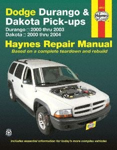 Haynes Repair Manuals Dodge Durango, 00-03 & Dakota Pick-ups, 00-04 (30022)