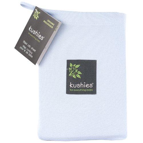 Kushies Organic Jersey Fitted Sheet