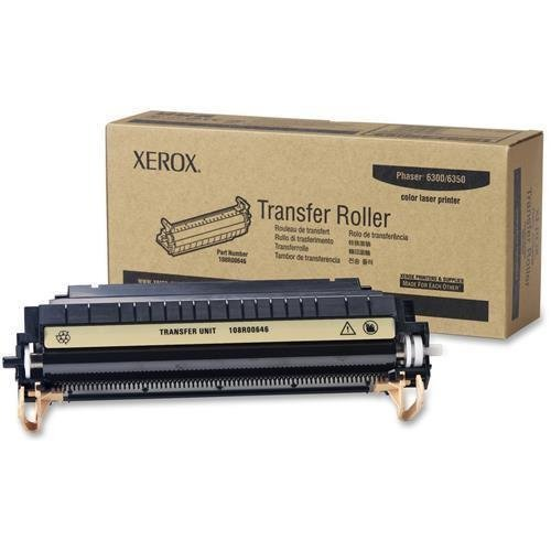 108R00646 Xerox Transfer Roll For Phaser 6300 and 6350 Color Printers - 35000 Pages - Laser by Xerox