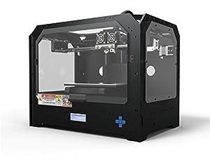 BuMat Elite 3D-BUM-DUAL2 Dual Extruder 3D Printer, Black by BuMat USA