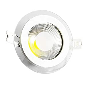 Firmly LED ceiling down light COB 10W glass body white 3 colors