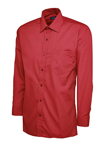 Uneek clothing -  Camicia classiche  - Uomo Maroon Large