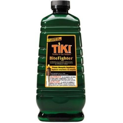 Hollowick Bitefighter Citronella and Cedar Oil Torch Fuel, 64 Ounce - 6 per case.