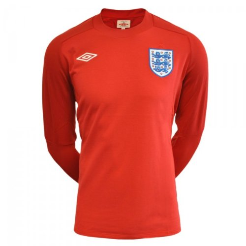 Umbro England Away Long Sleeve Shirt (Umbro Long Sleeve)