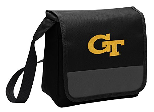 Broad Bay Georgia Tech Lunch Bag Shoulder GT Yellow Jackets Lunch -