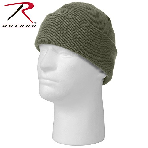 Rothco Deluxe Fine Knit Watch Cap, Foliage Green