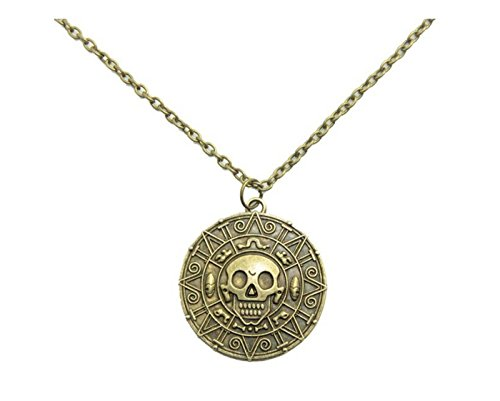 Grenf Fashion Gold Silver Plated Pirates of Caribbean