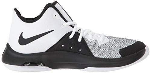 Adults' White Grey 100 III Unisex Dark Air Shoes Black Basketball Multicolour Versitile Nike 57qpn8xS