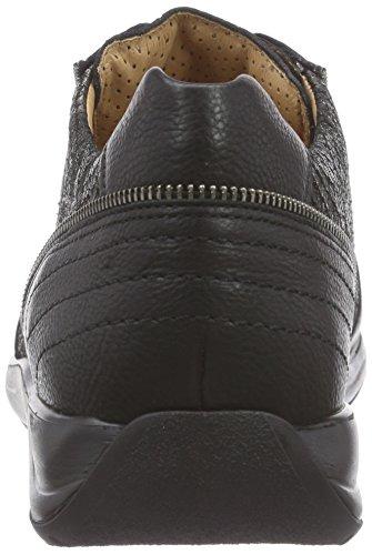 schwarz Ganter Weite G Antrazit 0162 Donna Basse Gianna Sneaker Nero qqg0r