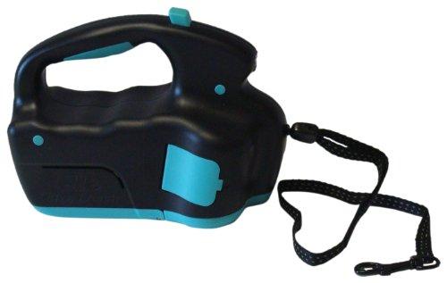 ULTRALEASH Retractable Cord Ultra Leash for Dog, Aqua