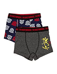 Transformers Boxers fo Boys | Pack of 2 Transformers Boys Underwear | Size 4T
