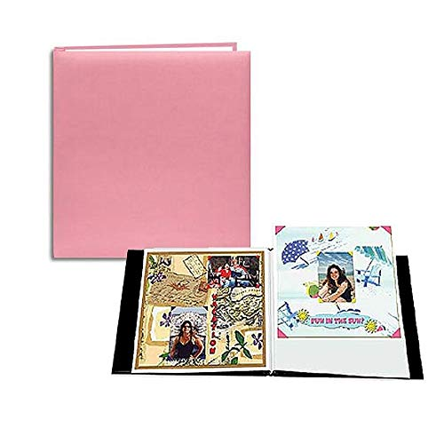 - SOFT-PINK E-Z LOAD 8.50x11 Scrapbook by Pioneer - 8.5x11