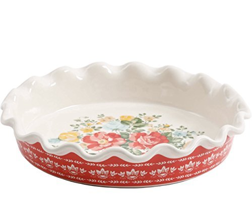 The Pioneer Woman Vintage Floral 9'' Pie Plate by The Pioneer Woman