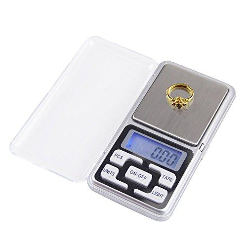 Pocket LCD Mini Electronic Digital Balance Weight Scale 300x0.01g - 9
