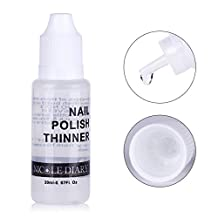 NICOLE DIARY 20ml Nail Polish Thinner Lacquer for Manicure Stamping Polish Thinner Liquid Nail Art Tool